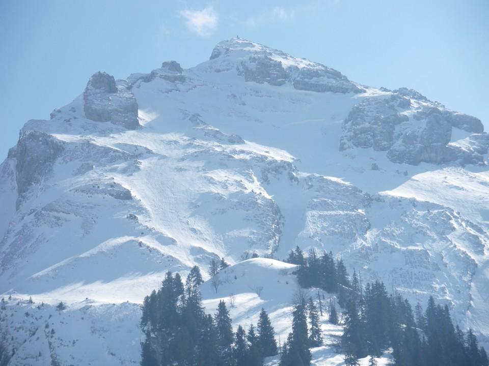 Vue d'ensemble, Mont Rachais