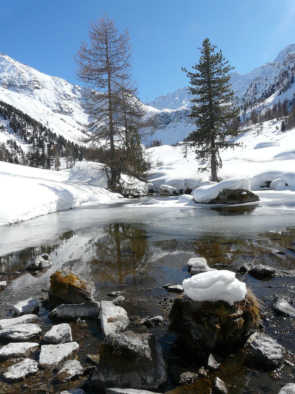 Halte bucolique à l'alpage de Comboé (val d'Aoste)