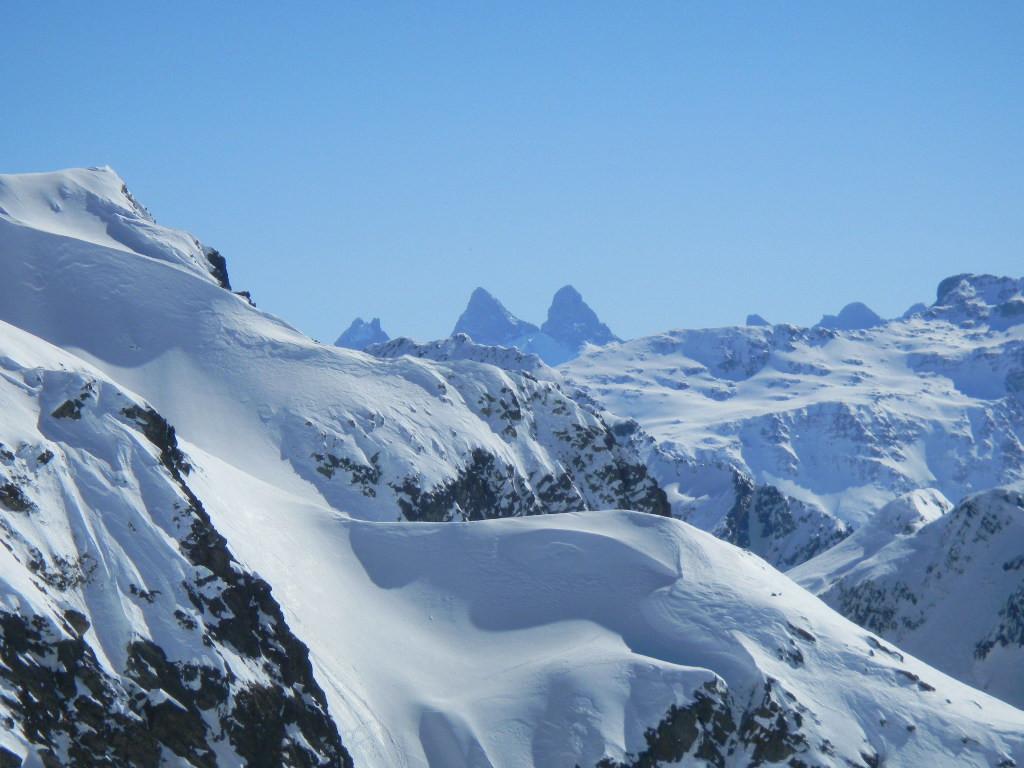 Aiguilles d'Arves vues du sommet