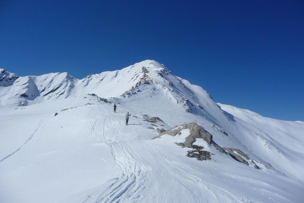 Le sommet du Rogneux