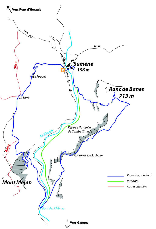 Itinéraire Ranc de Banes