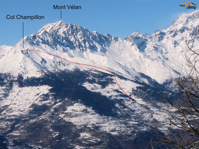 Col Champillon (Val d'Aoste)