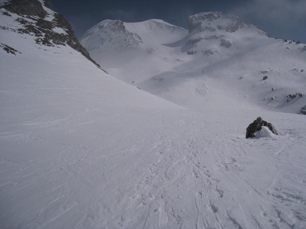 Charvin - vue depuisplateau(1650m)