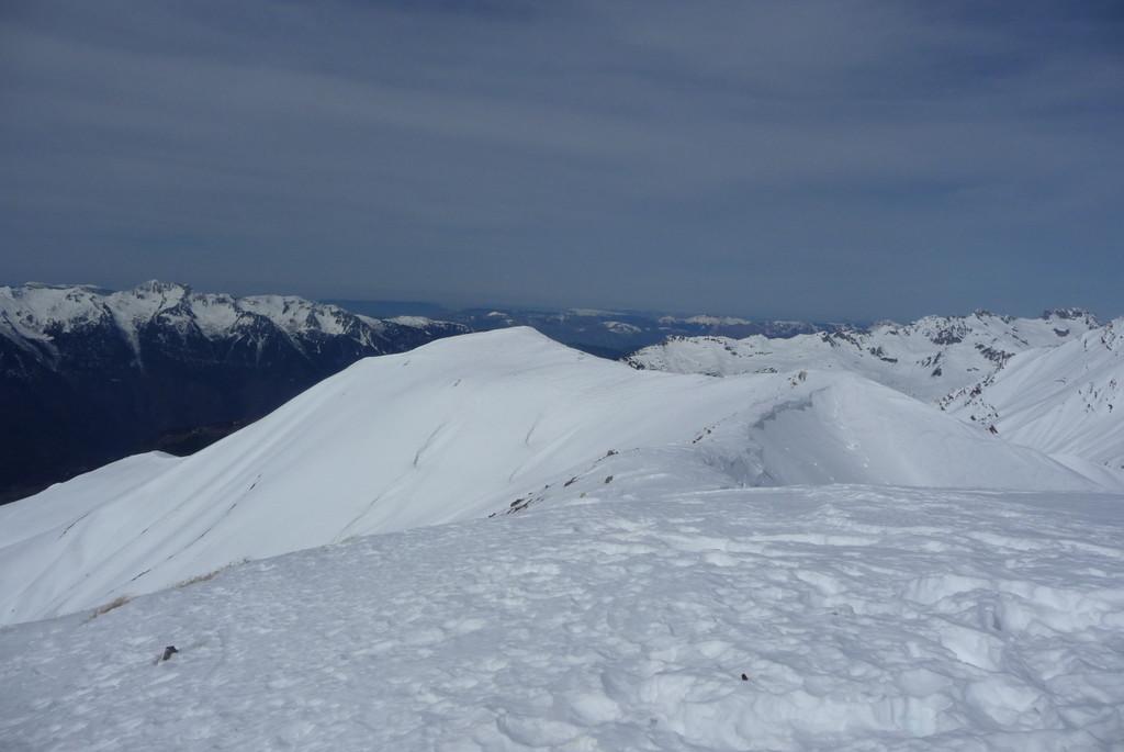 Panorama du sommet ds la direction opposée...