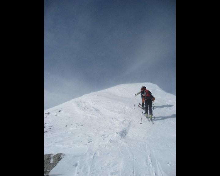 Arrivée au sommet du Rogneux