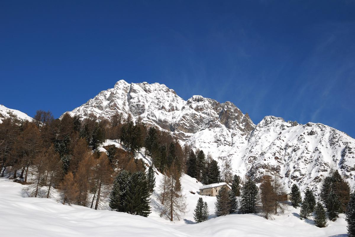Dans la montée au Rifugio Saoseo (Val Poschiavo, Grisons)