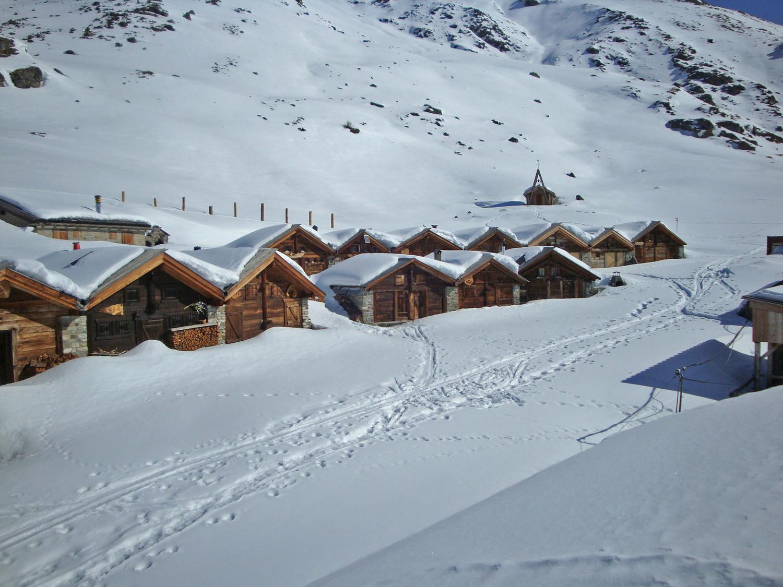 L'A Vieille; ancien alpage rénové