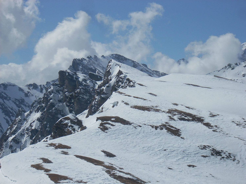 Punta d'Orogna vista dal Cazzola