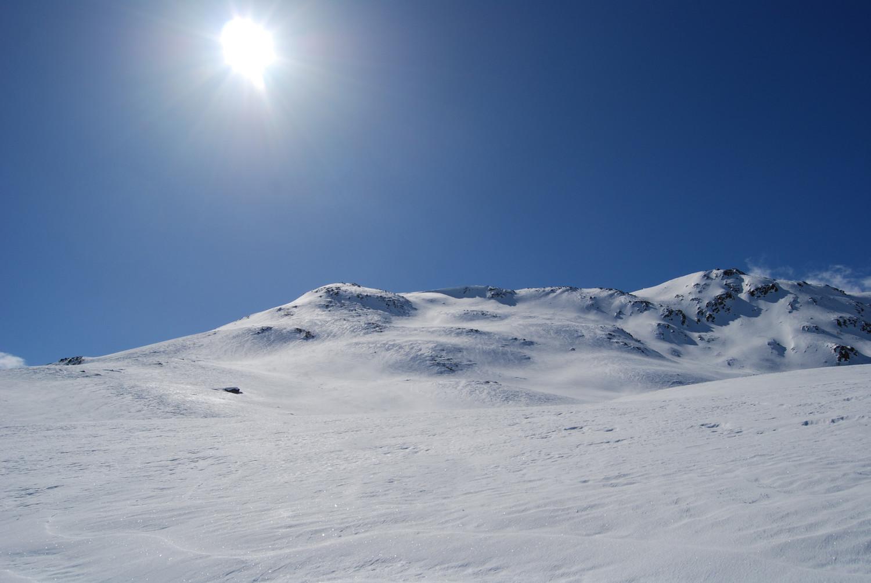 I  pendii superiori in parte ripidi al Munt Müsella 2630 m