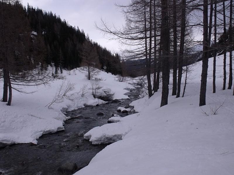 Le ruisseau de Berard vers 1600m