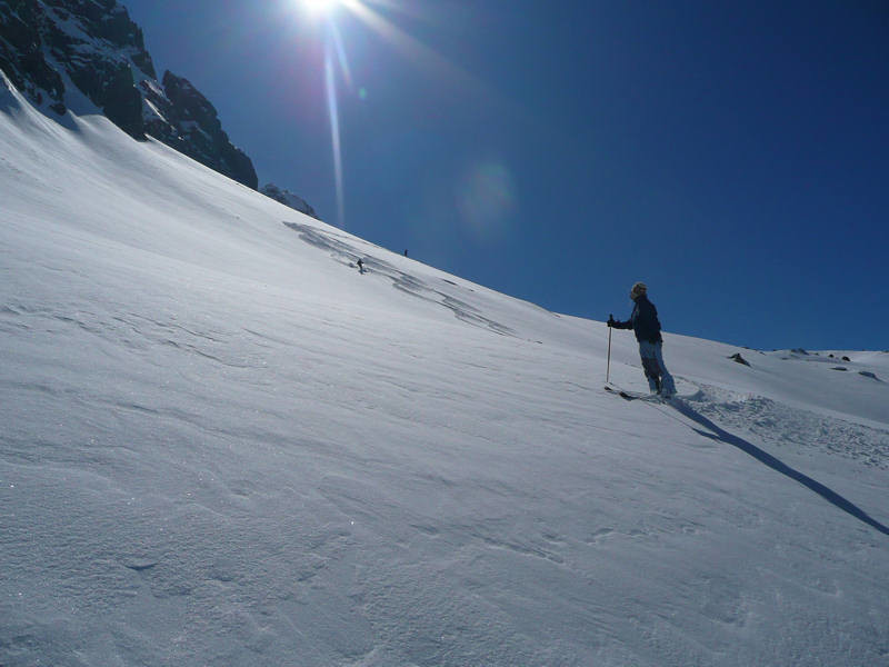Descente du Col 2600 m