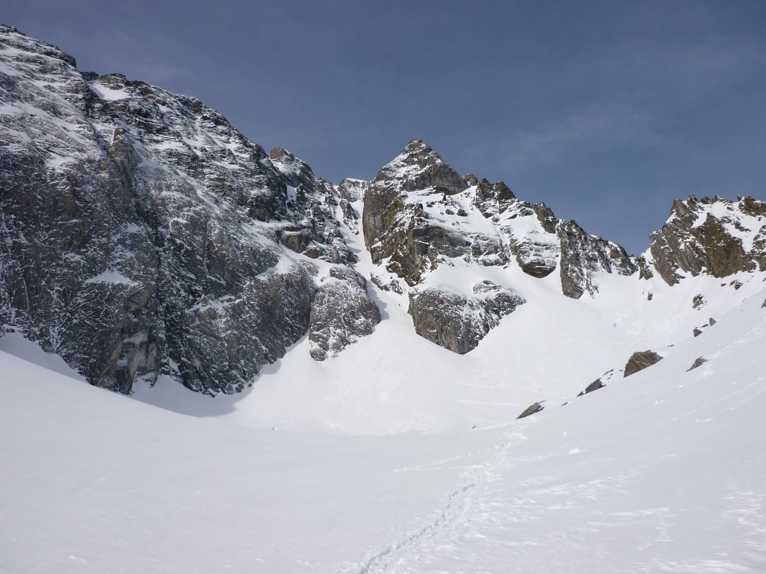 Arbizon : Couloir Billon