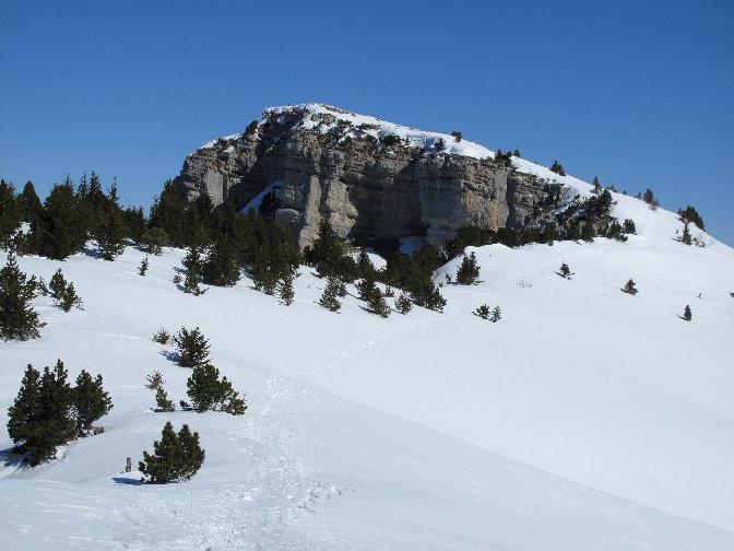 Le sommet du Granier
