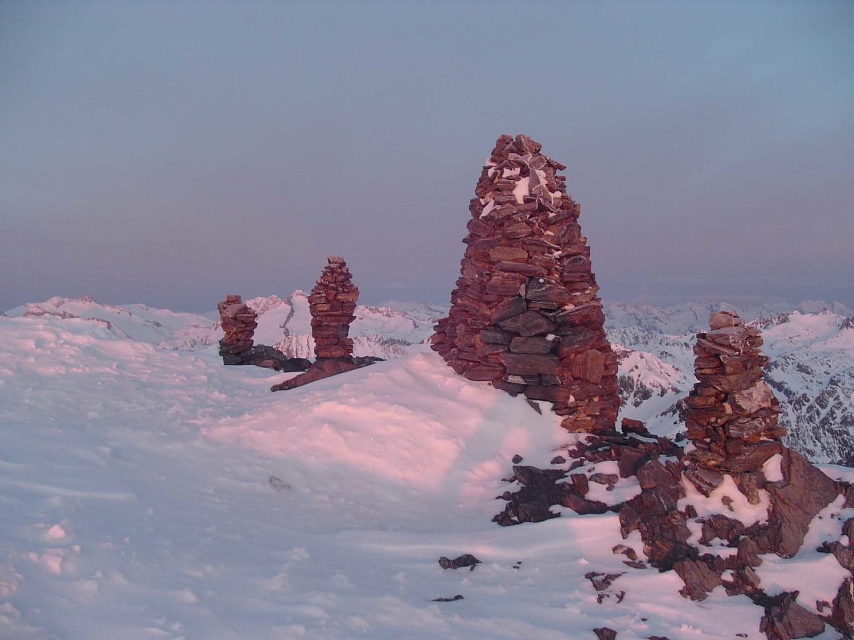 les cairns de l'Arbizon