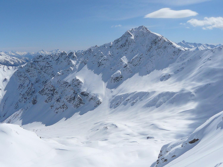 La face N du Mont Fallère (Val d'Aoste)