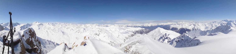 Panorama du sommet de Vouasson