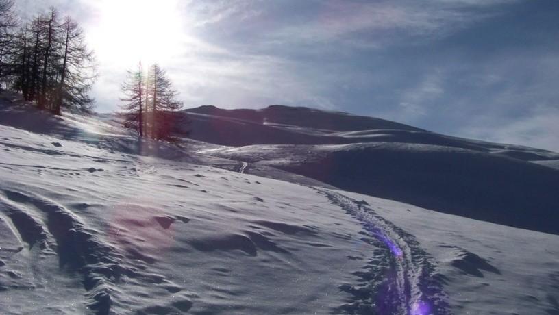 Da Champchenille ultimo tratto verso la cima