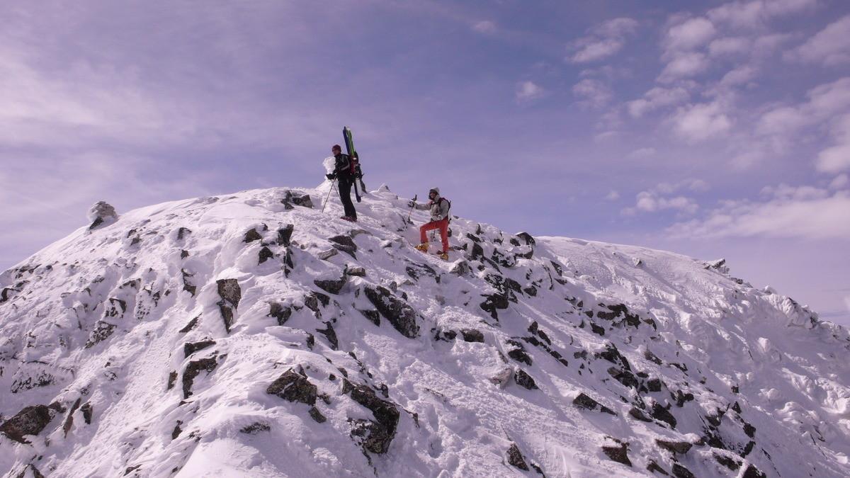 Au sommet du Perdiguere