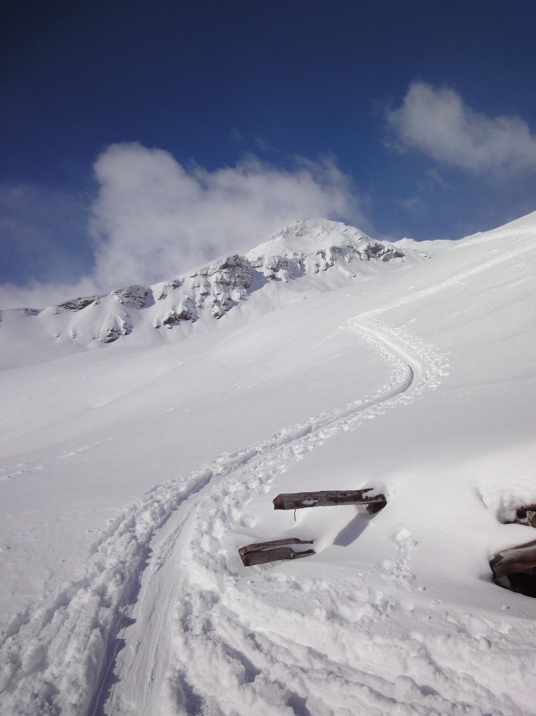Remointse de la Cretta : le Mont de l'Etoile dans les nuages