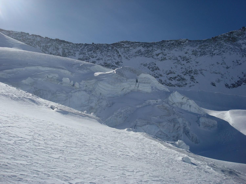 Glacier du Mont-Blanc de Cheilon