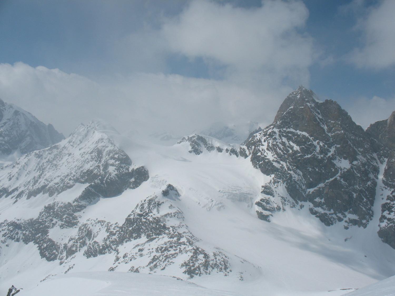 Depuis l'épaule 3498 du mont Brulé