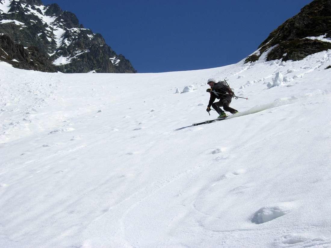 Grande Valloire Avril 2010 :  une descente de 1300m de moquette extra ça ne se refuse pas !