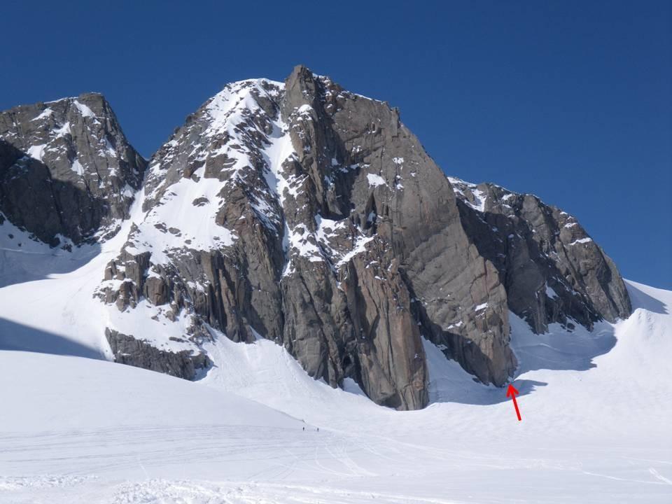 Pt. Lachenal (3613 m) et attaque de la Contamine