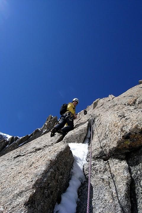 Quel bonheur! (Pt. Lachenal 3613 m)