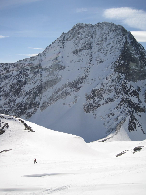 Il versante nord del Mont Gele'