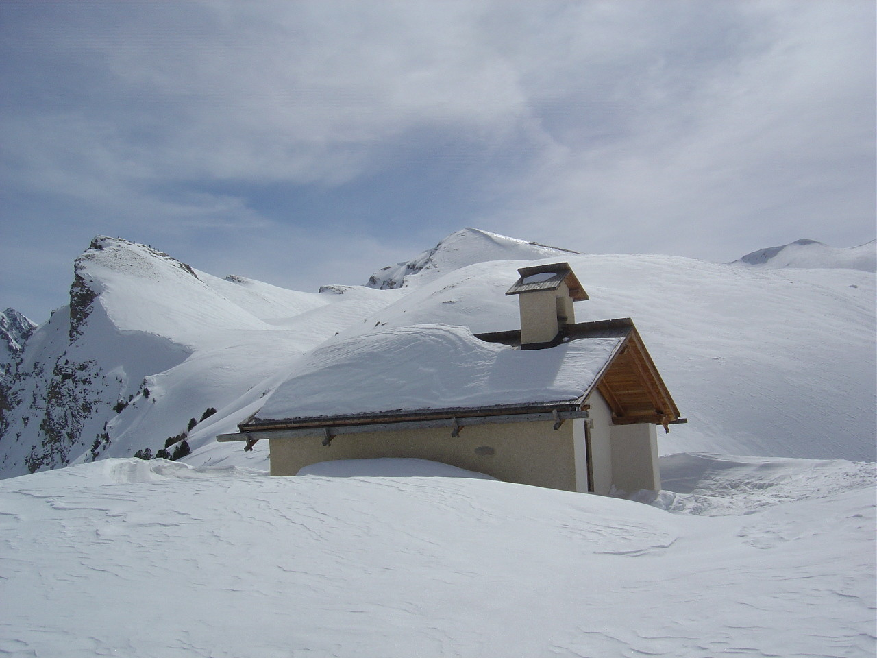 La chapelle Ste Anne.