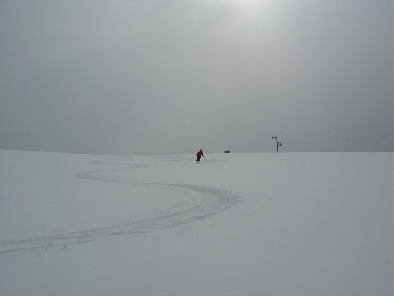 Excellente neige...