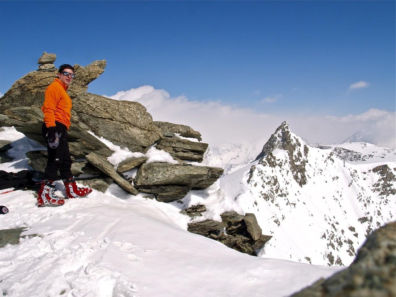 Sommet du Mont de Gréboulaz