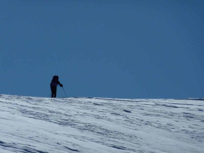 Arrivée au Col de la Lavey
