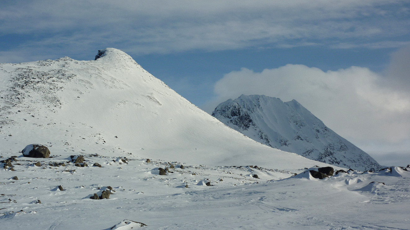 Storfjellet - Pointe N : Face NW