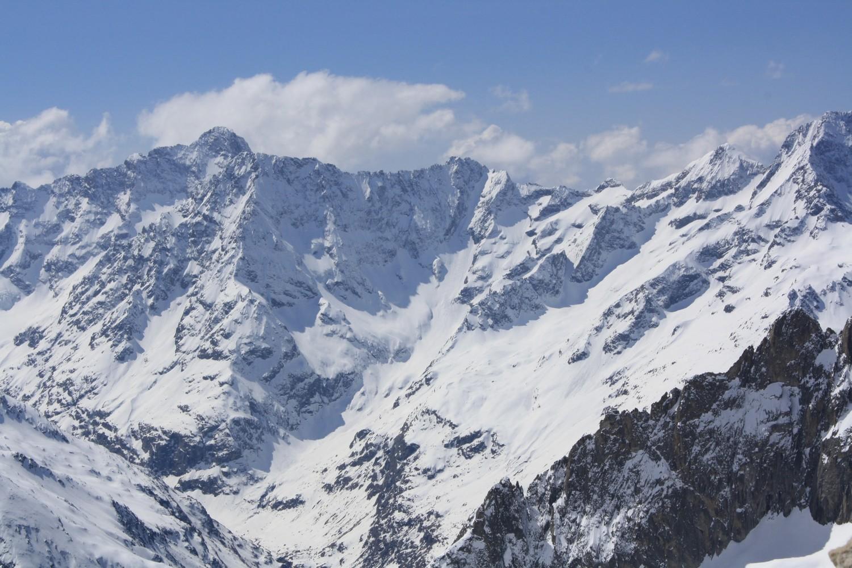 Du Col de Burlan, vers le SW