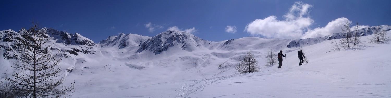 Panorama du Mont Neiglier a la Valette de Prals