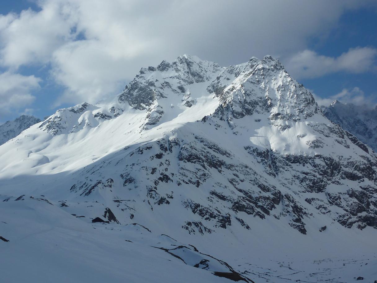 Pics de Chamoissière : versant N