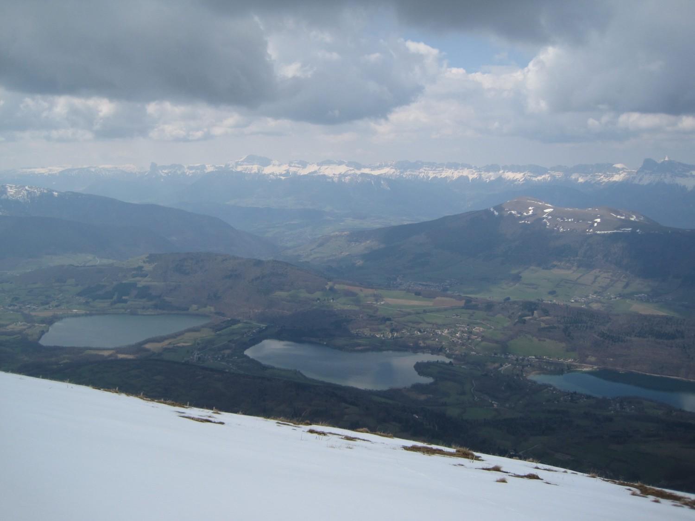 Lacs de Pétichet et Pierre Chatel