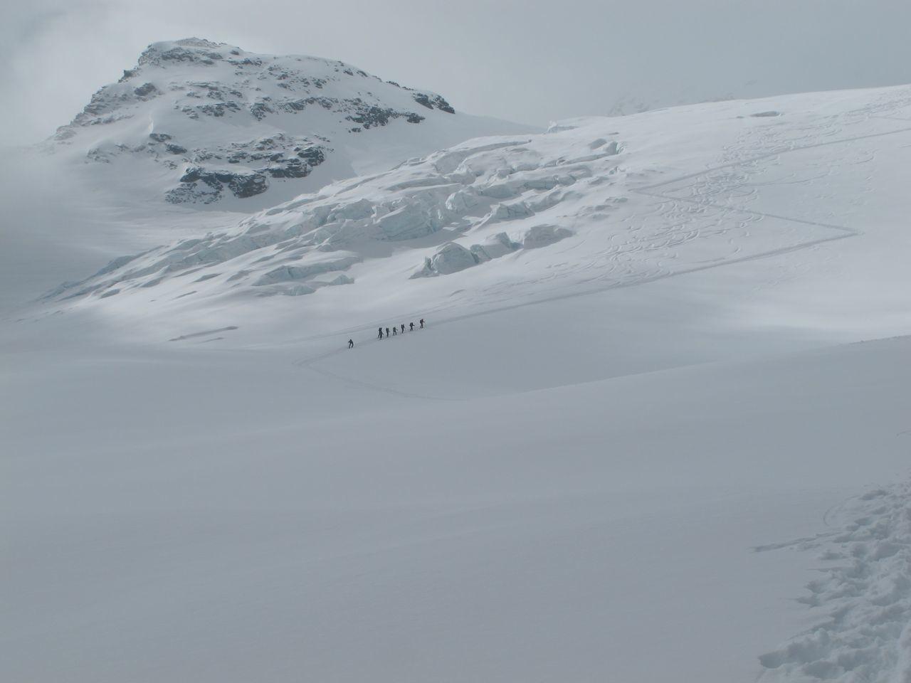 Glacier bien bouché