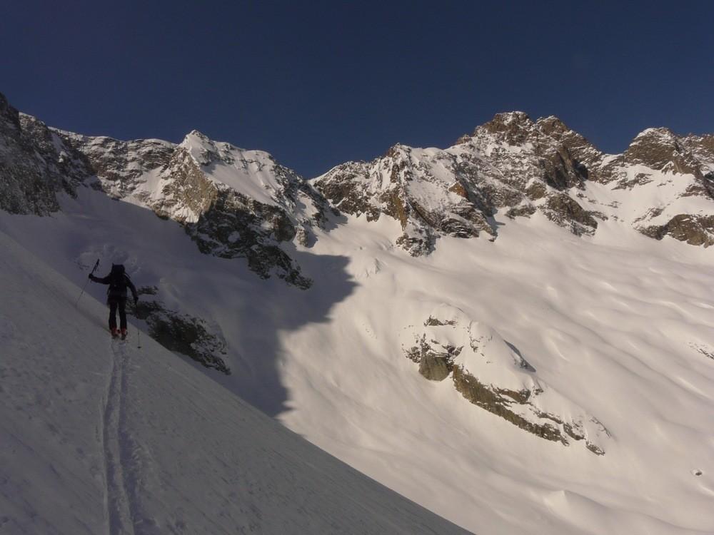 Col de Clot Châtel - Versant NW