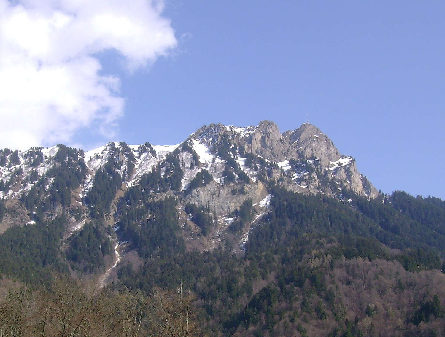 Le Chamossaire (vue NW)
