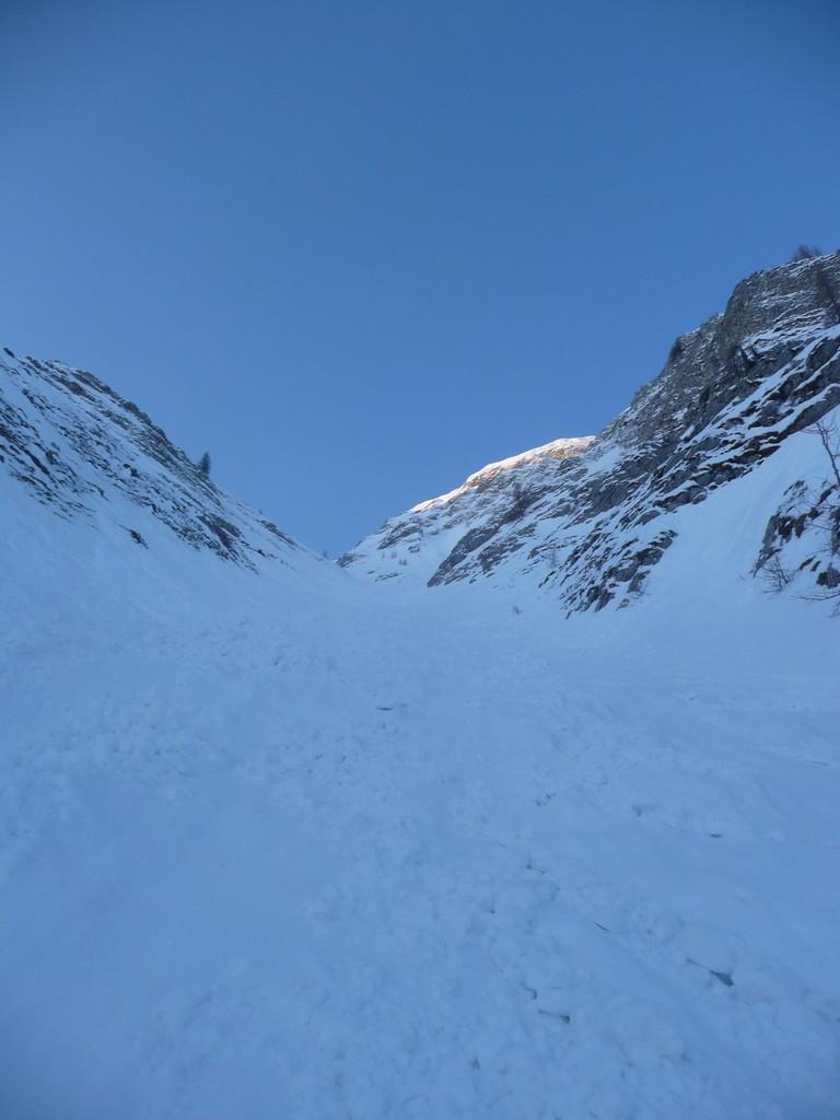 Cheval Blanc, couloir Nord.
