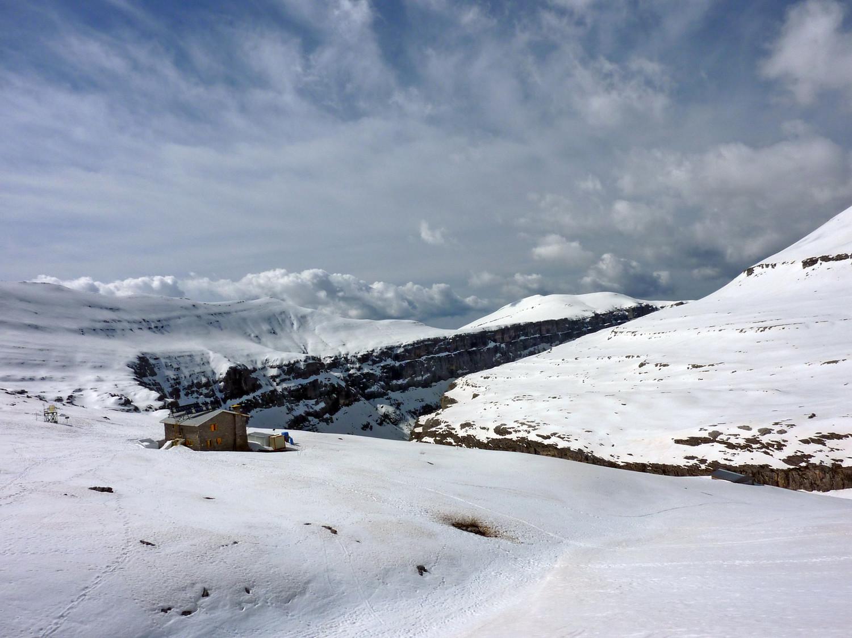 Refuge de Goritz et canyon d'Ordesa