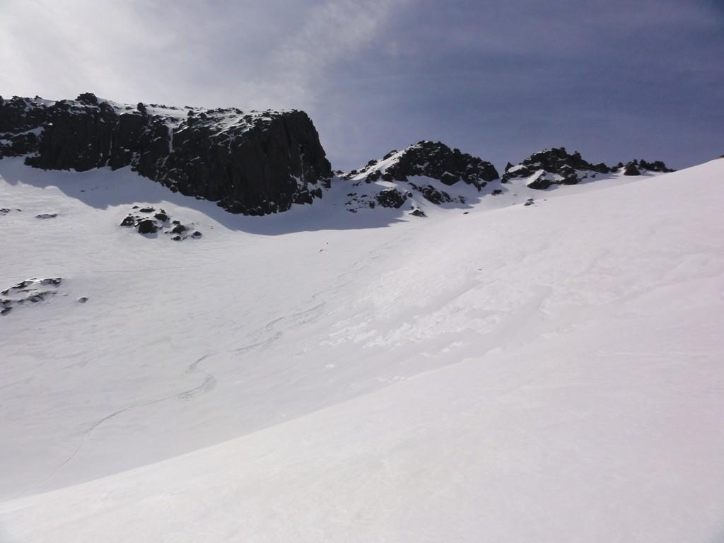 il canale finale del monte rotondu