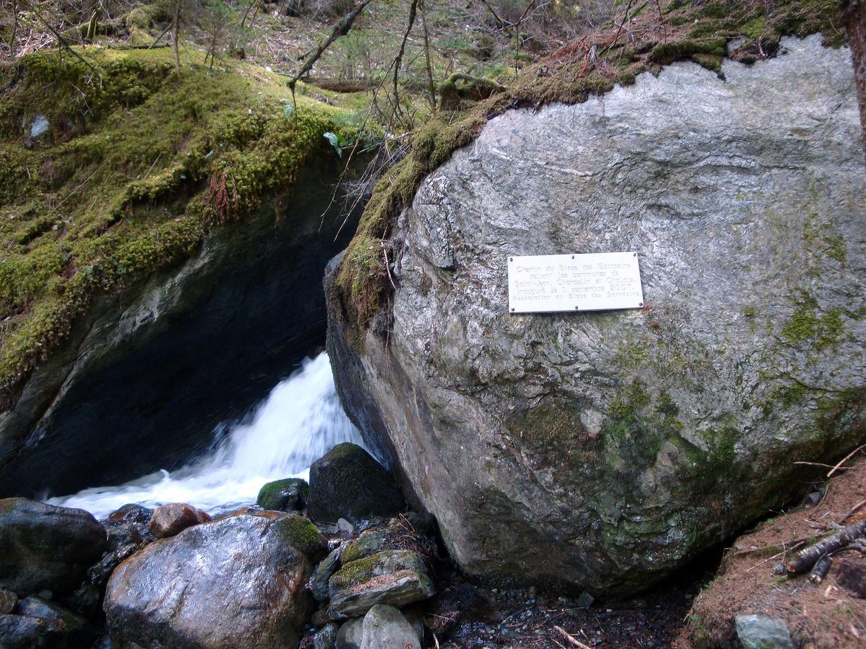 Sarrasins: prise au torrent de Pinsec