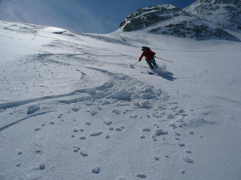 haut du Glacier kastelberg