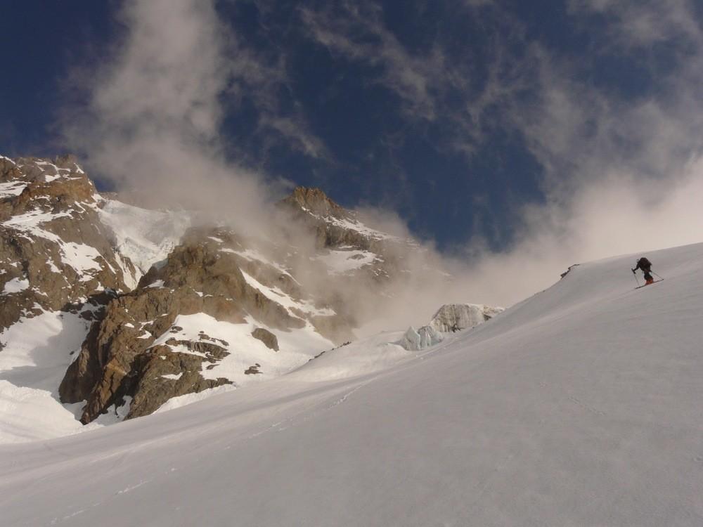 Sur le Glacier du Petit Mont Blanc