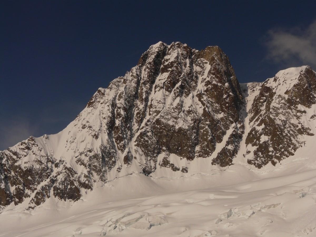 Aiguille des Glaciers - Versant NE