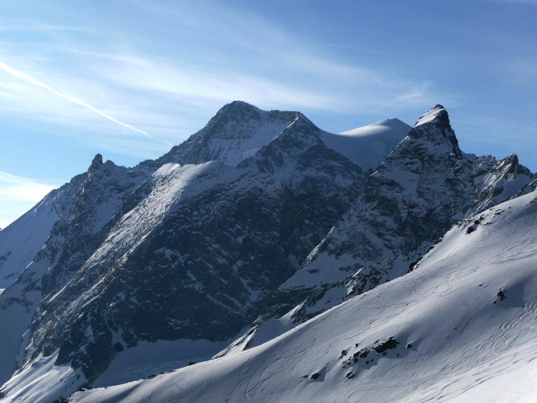 Grande Casse vue du glacier de Troquairou