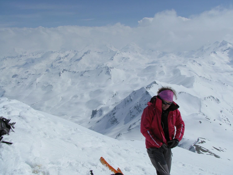 Petit vent glacial au sommet